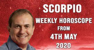 Scorpio Weekly Horoscope from 4th May 2020