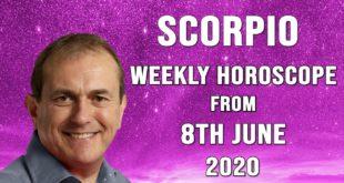 Scorpio Weekly Horoscope from 8th June 2020