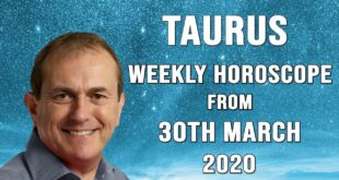 Taurus Weekly Horoscope from 30th March 2020