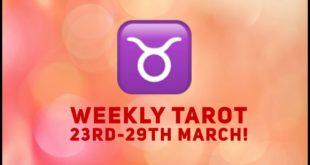 Taurus Weekly Tarot 23rd - 29th March 2020 #Taurus #Tarot