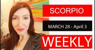 SCORPIO WEEKLY LOVE THIS IS WRITTEN IN THE STARS!!! MARCH 28 TO APRIL 3