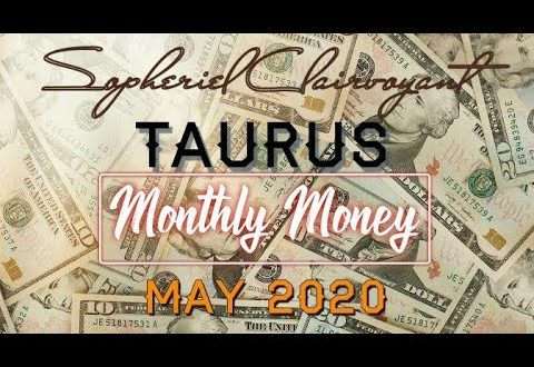 """TAURUS MONTHLY MONEY """"End Of An Era?!? MAY 2020"""