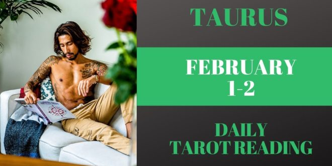"""TAURUS - """"THE REAL REASON YOU CANNOT LET GO"""" FEBRUARY 1-2 DAILY TAROT READING"""