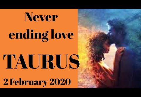 Taurus daily love reading 💖 NEVER ENDING LOVE  💖 2 FEBRUARY 2020